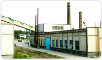 General view of the adsorbent factory facilities